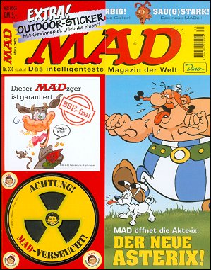 MAD Magazine #30 • Germany • 2nd Edition - Dino/Panini