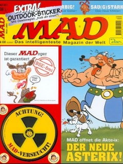 Go to MAD Magazine #30 • Germany • 2nd Edition - Dino/Panini
