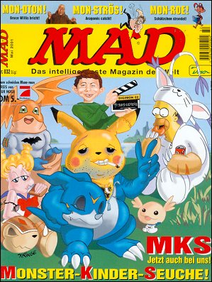 MAD Magazine #32 • Germany • 2nd Edition - Dino/Panini
