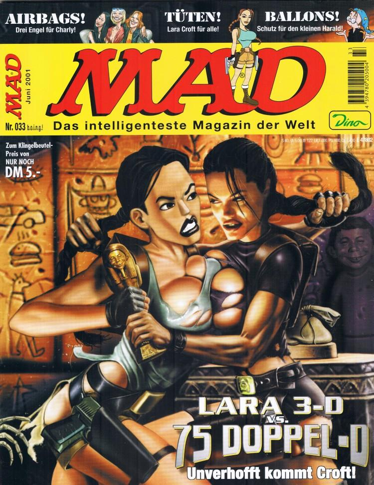 MAD Magazine #33 • Germany • 2nd Edition - Dino/Panini