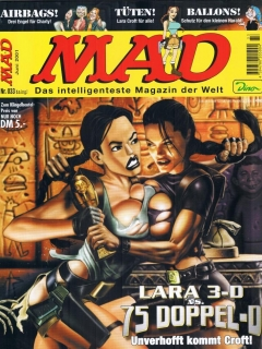 Go to MAD Magazine #33 • Germany • 2nd Edition - Dino/Panini