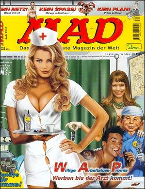 MAD Magazine #34 • Germany • 2nd Edition - Dino/Panini