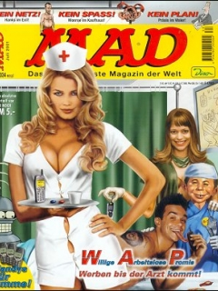 Go to MAD Magazine #34 • Germany • 2nd Edition - Dino/Panini