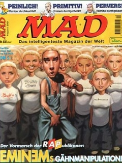 Go to MAD Magazine #35 • Germany • 2nd Edition - Dino/Panini