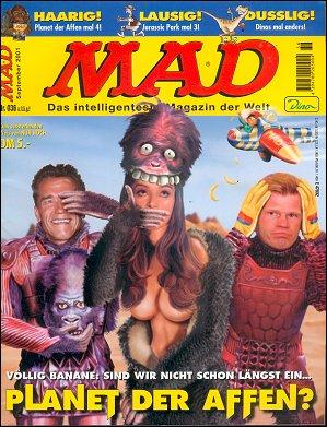MAD Magazine #36 • Germany • 2nd Edition - Dino/Panini