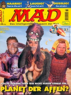 Go to MAD Magazine #36 • Germany • 2nd Edition - Dino/Panini