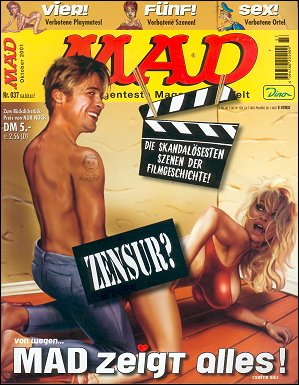 MAD Magazine #37 • Germany • 2nd Edition - Dino/Panini
