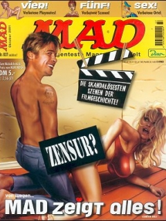 Go to MAD Magazine #37 • Germany • 2nd Edition - Dino/Panini