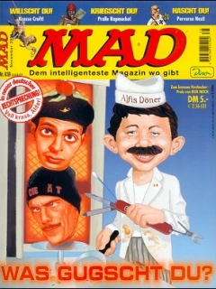 Go to MAD Magazine #38 • Germany • 2nd Edition - Dino/Panini