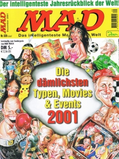 Go to MAD Magazine #39 • Germany • 2nd Edition - Dino/Panini