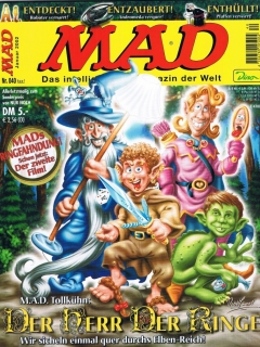 Go to MAD Magazine #40 • Germany • 2nd Edition - Dino/Panini