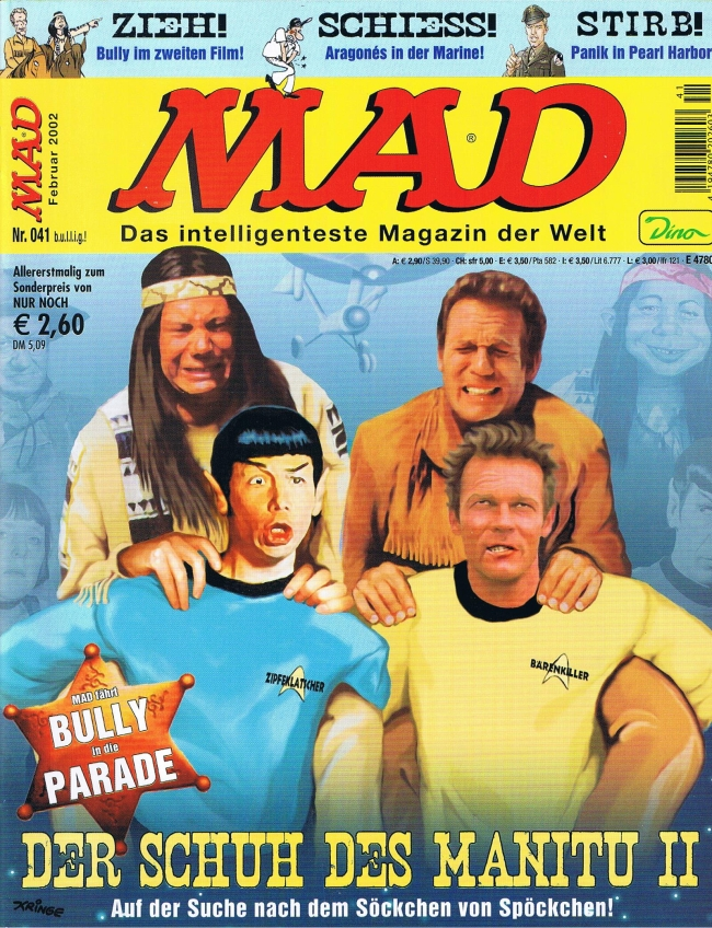 MAD Magazine #41 • Germany • 2nd Edition - Dino/Panini