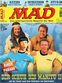 Go to MAD Magazine #41 • Germany • 2nd Edition - Dino/Panini