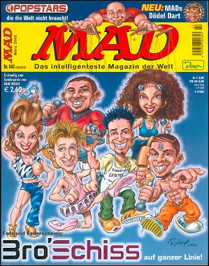 MAD Magazine #42 • Germany • 2nd Edition - Dino/Panini