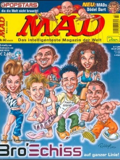 Go to MAD Magazine #42 • Germany • 2nd Edition - Dino/Panini