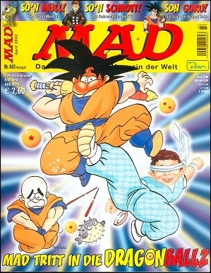 MAD Magazine #43 • Germany • 2nd Edition - Dino/Panini