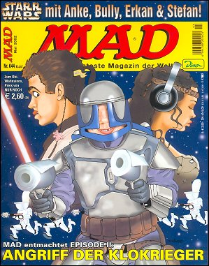 MAD Magazine #44 • Germany • 2nd Edition - Dino/Panini