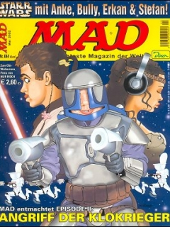 Go to MAD Magazine #44 • Germany • 2nd Edition - Dino/Panini