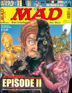 MAD Magazine #45 • Germany • 2nd Edition - Dino/Panini