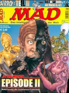 Go to MAD Magazine #45 • Germany • 2nd Edition - Dino/Panini
