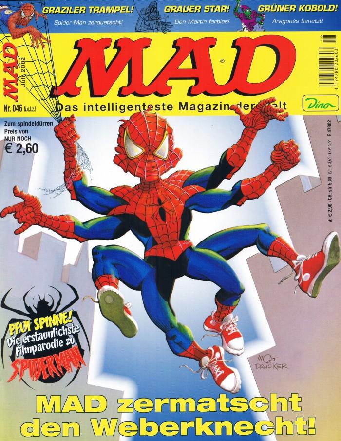 MAD Magazine #46 • Germany • 2nd Edition - Dino/Panini
