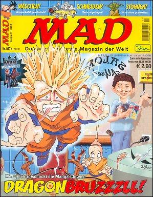 MAD Magazine #47 • Germany • 2nd Edition - Dino/Panini