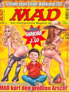 MAD Magazine #48 • Germany • 2nd Edition - Dino/Panini