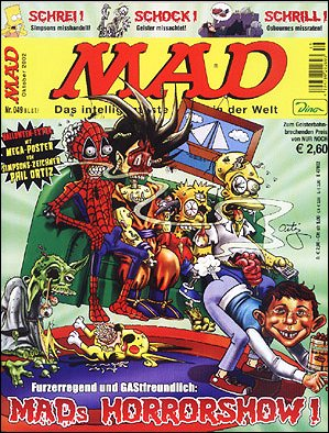 MAD Magazine #49 • Germany • 2nd Edition - Dino/Panini