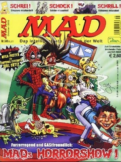 Go to MAD Magazine #49 • Germany • 2nd Edition - Dino/Panini