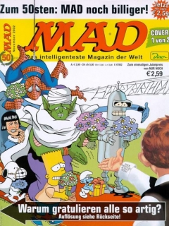 Go to MAD Magazine #50 • Germany • 2nd Edition - Dino/Panini