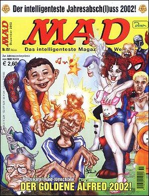 MAD Magazine #51 • Germany • 2nd Edition - Dino/Panini
