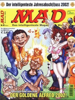 MAD Magazine #51 • Germany • 2nd Edition - Dino/Panini