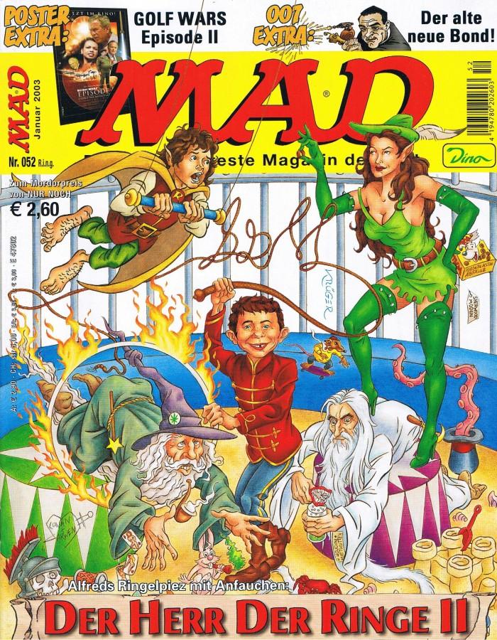 MAD Magazine #52 • Germany • 2nd Edition - Dino/Panini