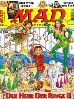 MAD Magazine #52 • Germany • 2nd Edition - Dino/Panini