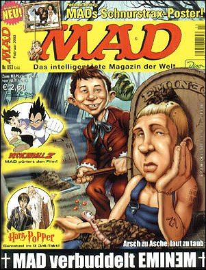MAD Magazine #53 • Germany • 2nd Edition - Dino/Panini
