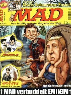 Go to MAD Magazine #53 • Germany • 2nd Edition - Dino/Panini