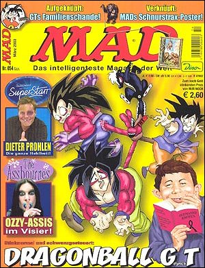 MAD Magazine #54 • Germany • 2nd Edition - Dino/Panini