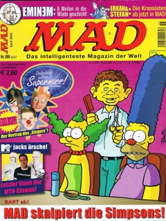 Go to MAD Magazine #55 • Germany • 2nd Edition - Dino/Panini