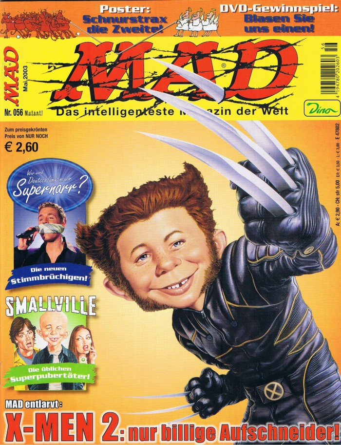 MAD Magazine #56 • Germany • 2nd Edition - Dino/Panini