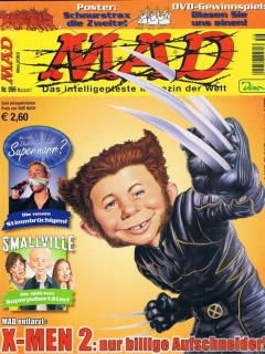 Go to MAD Magazine #56 • Germany • 2nd Edition - Dino/Panini
