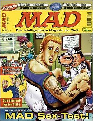 MAD Magazine #58 • Germany • 2nd Edition - Dino/Panini