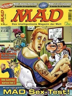 Go to MAD Magazine #58 • Germany • 2nd Edition - Dino/Panini