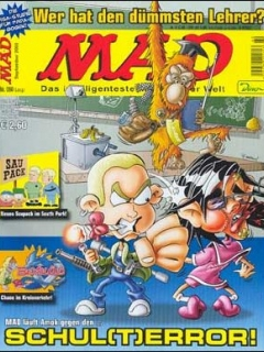 Go to MAD Magazine #60 • Germany • 2nd Edition - Dino/Panini
