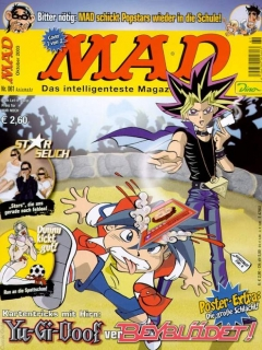 MAD Magazine #61 • Germany • 2nd Edition - Dino/Panini