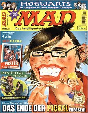 MAD Magazine #62 • Germany • 2nd Edition - Dino/Panini