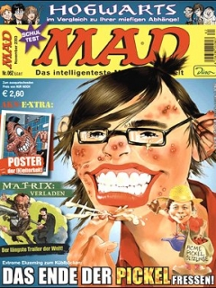 Go to MAD Magazine #62 • Germany • 2nd Edition - Dino/Panini