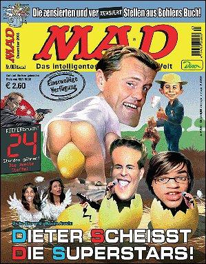 MAD Magazine #63 • Germany • 2nd Edition - Dino/Panini