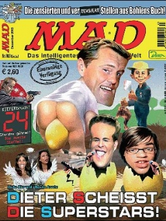Go to MAD Magazine #63 • Germany • 2nd Edition - Dino/Panini