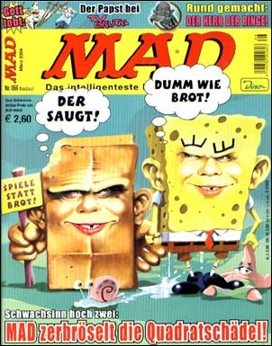 MAD Magazine #66 • Germany • 2nd Edition - Dino/Panini