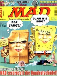 Go to MAD Magazine #66 • Germany • 2nd Edition - Dino/Panini